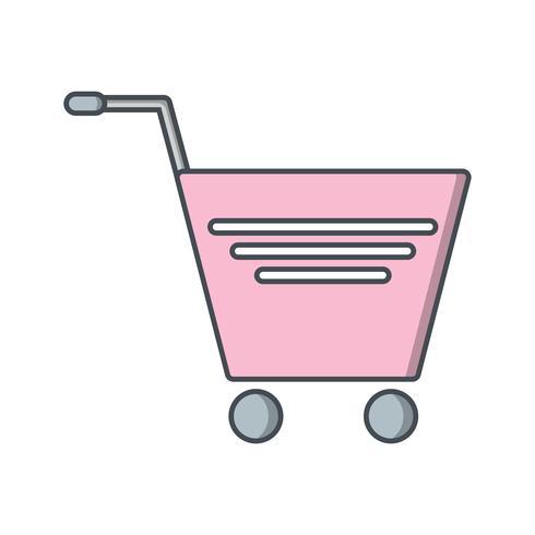 Vector winkelwagen pictogram