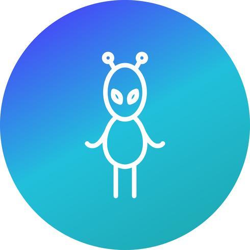 Alien Vector Icon