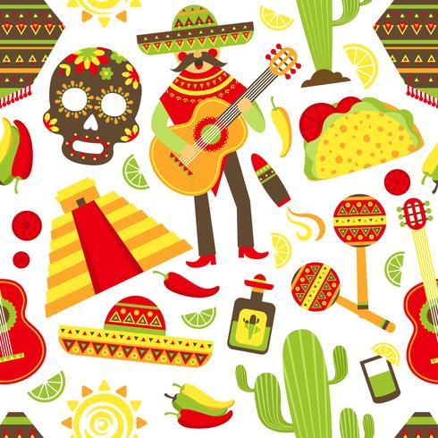 Mexico naadloze patroon