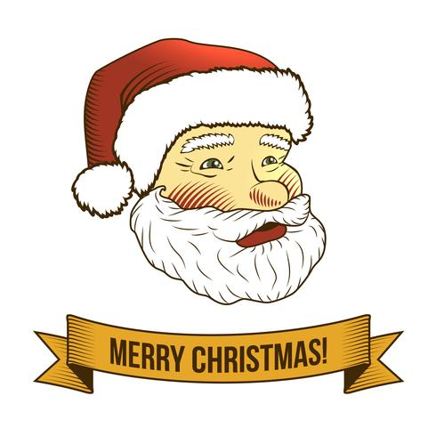Christmas santa claus icon