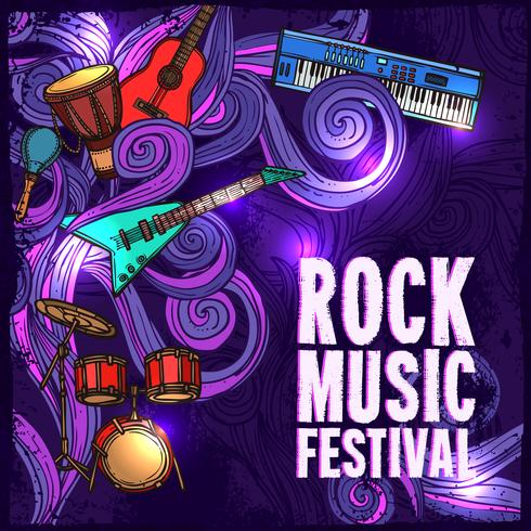 Cartel del festival de musica