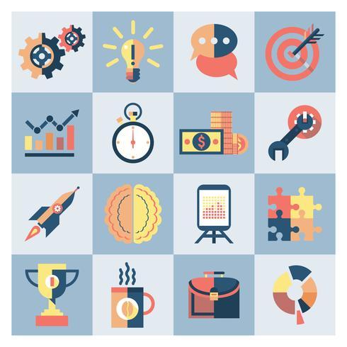 Creative icons set vector