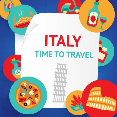 Italië achtergrond sjabloon