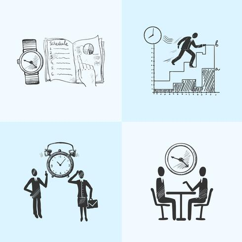 Esquisse de composition de gestion du temps