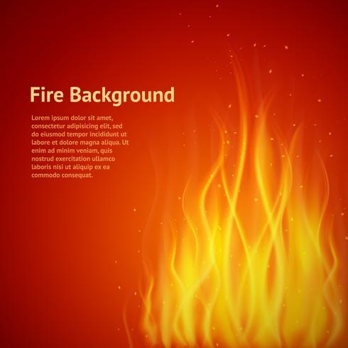 Vlam rode achtergrond