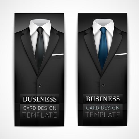 Geschäftsmann Anzug Einladungssammlung