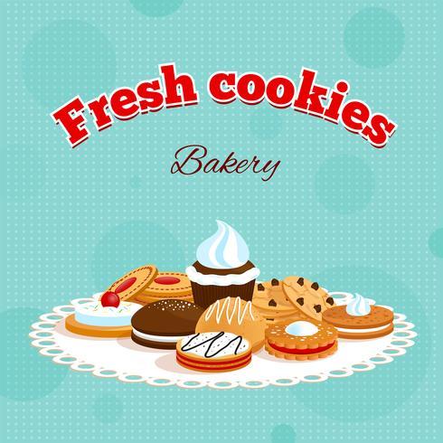 Bäckerei Retro-Poster
