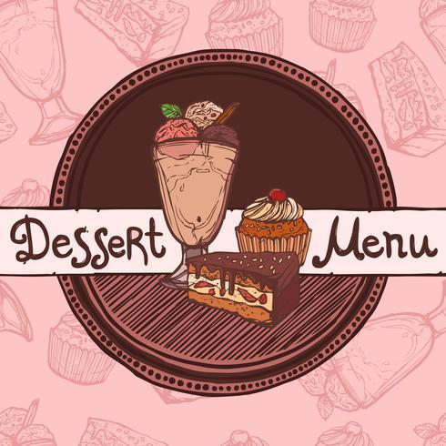 Restaurant Skizze Menüvorlage
