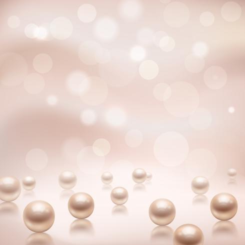 Lyx pärlor bakgrund