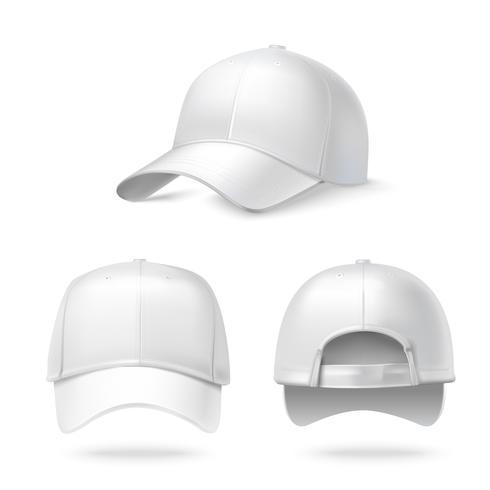 Realistic baseball cap