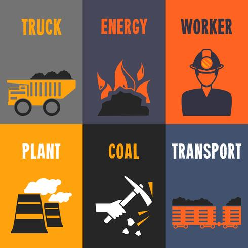 Coal industry mini posters