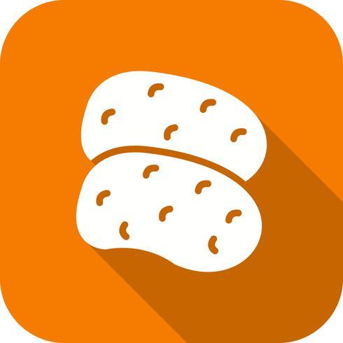 Vektor-Kartoffeln-Symbol