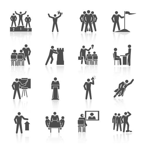 Iconos de liderazgo negro