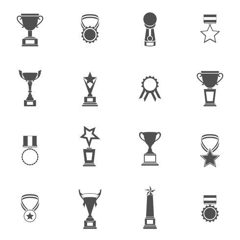 trofee pictogrammen instellen