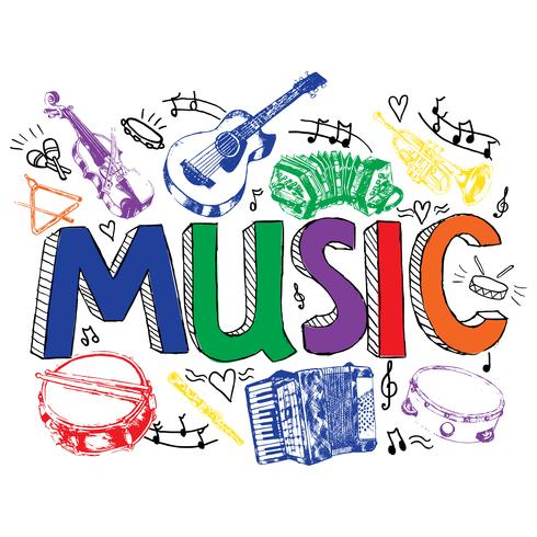 Music background color sketch
