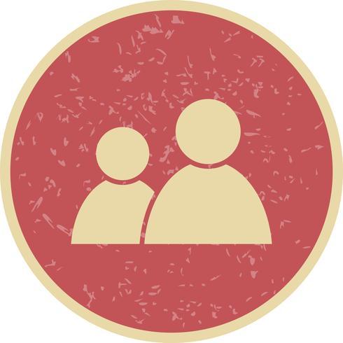 Vector icono de usuarios
