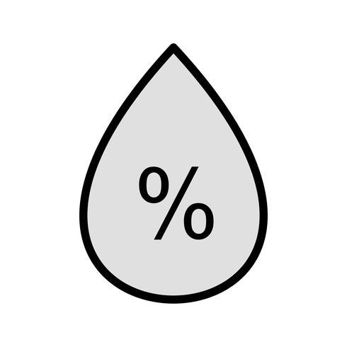 Humidity Vetor Icon