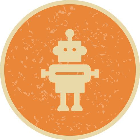 Icono de vector de robot