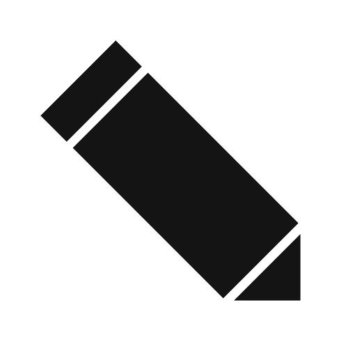 Icona di modifica vettoriale