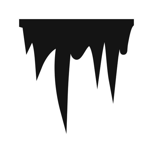 Icicle Vector Icon
