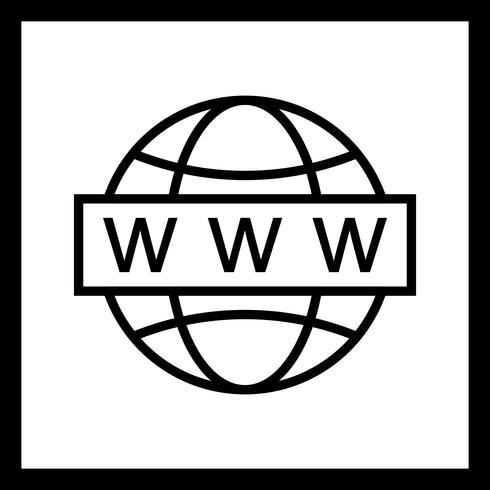 Vector Web Search Icon
