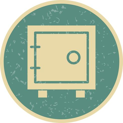 Vector icono de bóveda