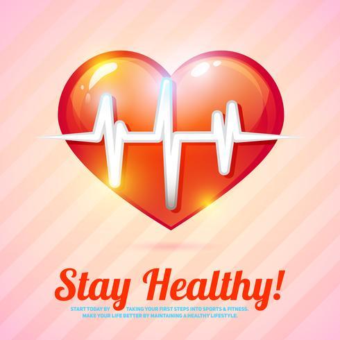 Fondo de estilo de vida saludable