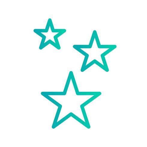 Stars Vector Icon
