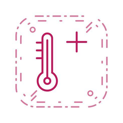 Icono de vector caliente