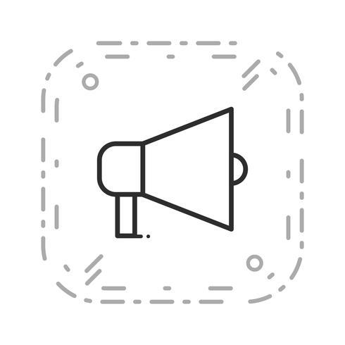 Vector Aankondigingspictogram