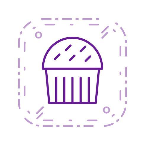Vector Cupcake Icon