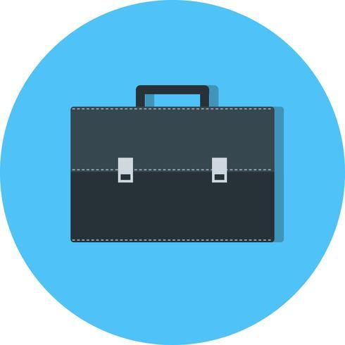 Icône de porte-documents de vecteur