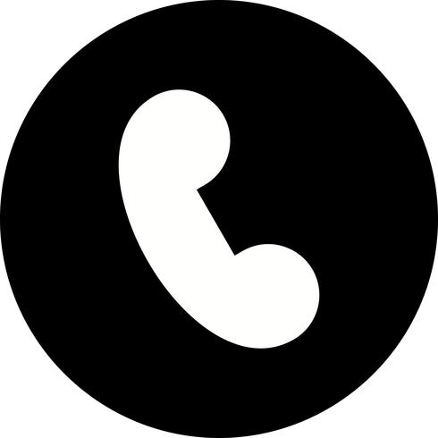 Ícone de vetor de chamada