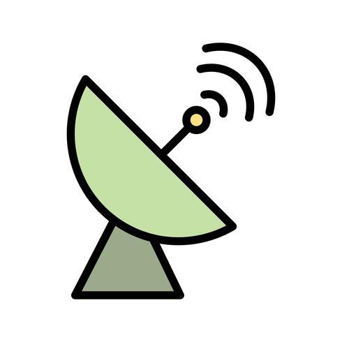 Satelliträtt Vector Icon
