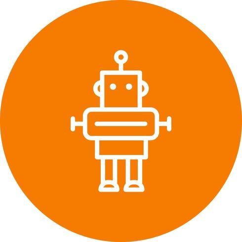 Ícone de vetor de robô