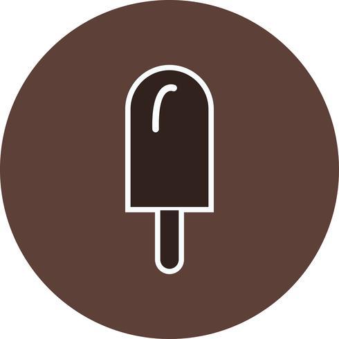 Ícone de sorvete de vetor