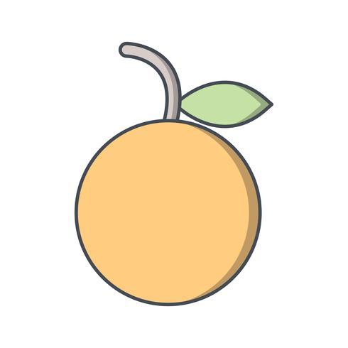 Vector ícone laranja