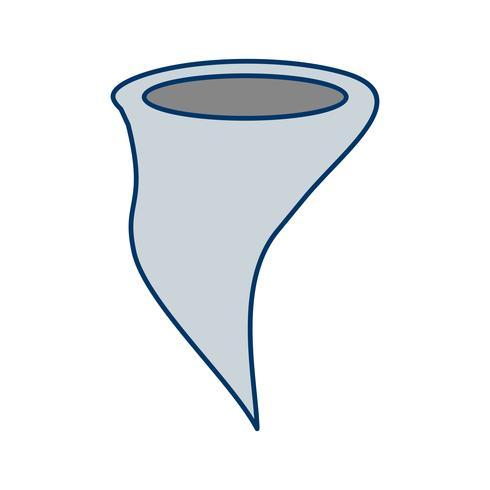 tornado vector pictogram
