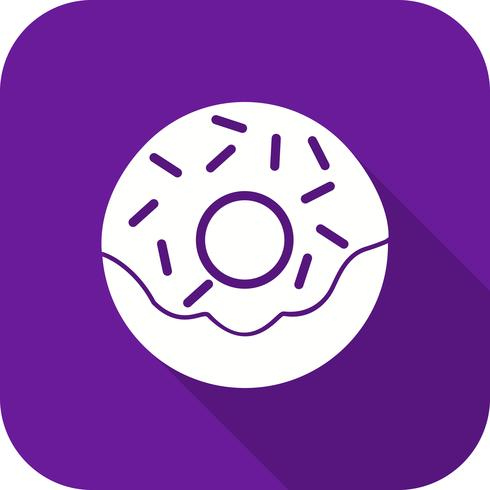 Vector icono de buñuelo