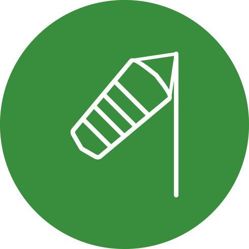 Windy Vector Icon