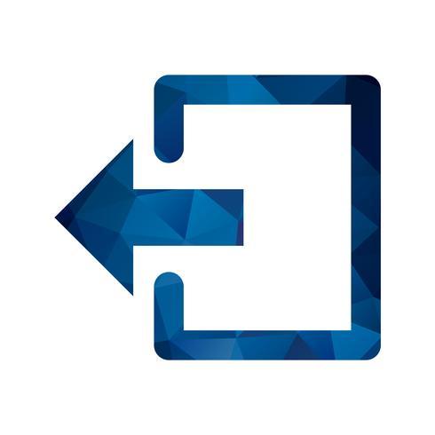 icône de vecteur de déconnexion