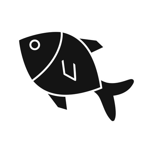 vektor fisk ikon