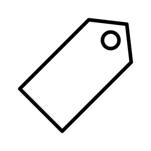 Ícone de marca de vetor