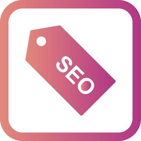 ícone de marca de vetor seo