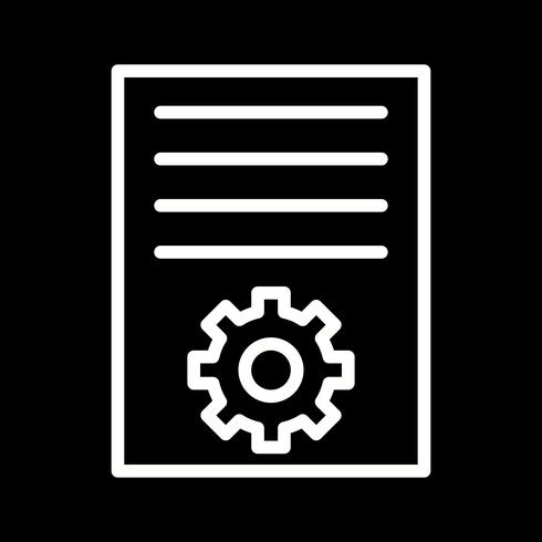 Vector Artikel Marketing Icon