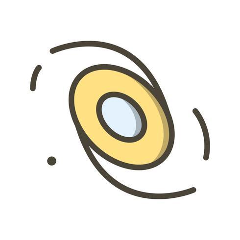 Melkweg vector pictogram