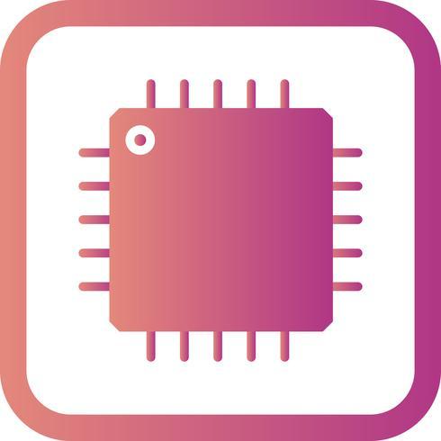 Icona del processore vettoriale