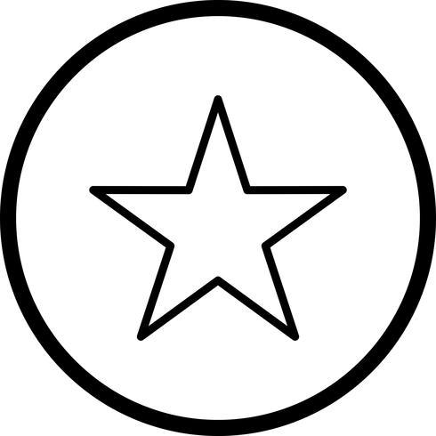 Estrella vector icon