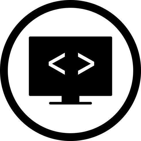 Vector Code optimization Icon