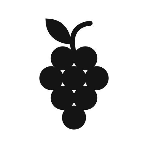 Vector druiven pictogram